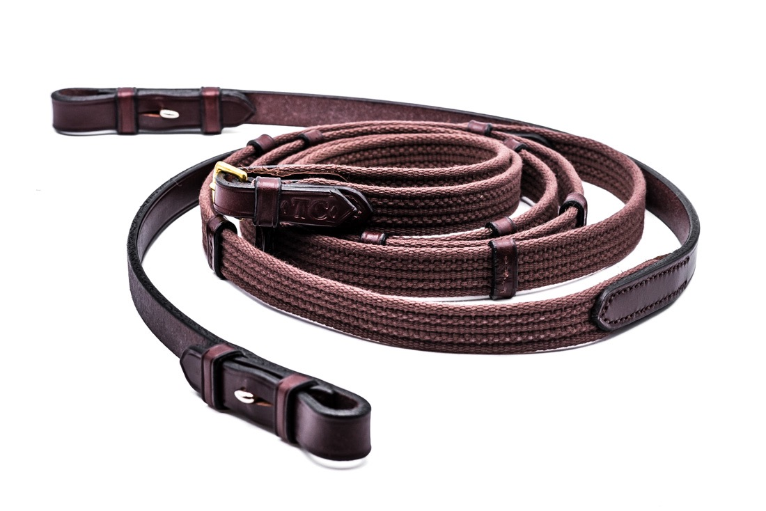 Continental Reins by Somerset based TC Leatherwork