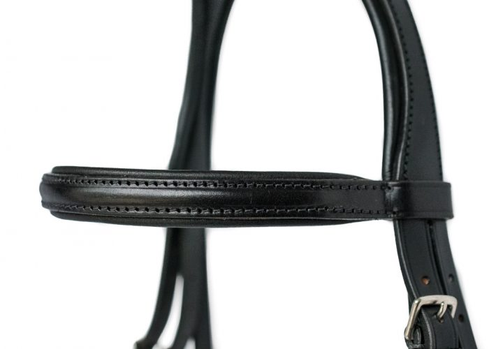 Top Quality bespoke English Deluxe Comfort bridle by TC Leatherwork