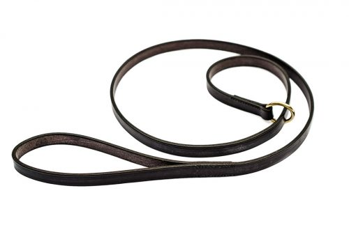 Leather slip lead from TC Leatherwork in Somerset