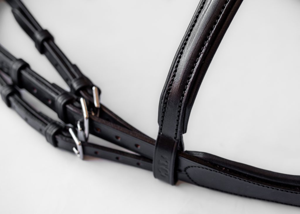 Made to Measure Customer Special Bridle by TC Leatherwork