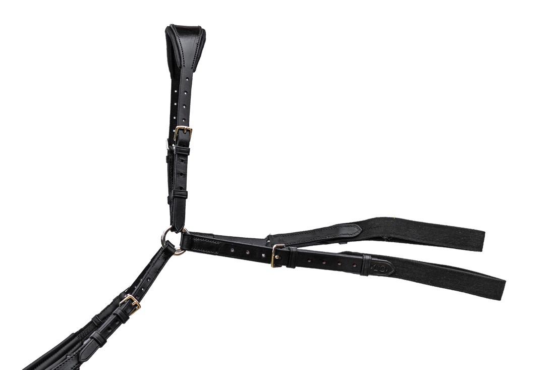 TC Leatherwork Deluxe Comfort Power Breastplate