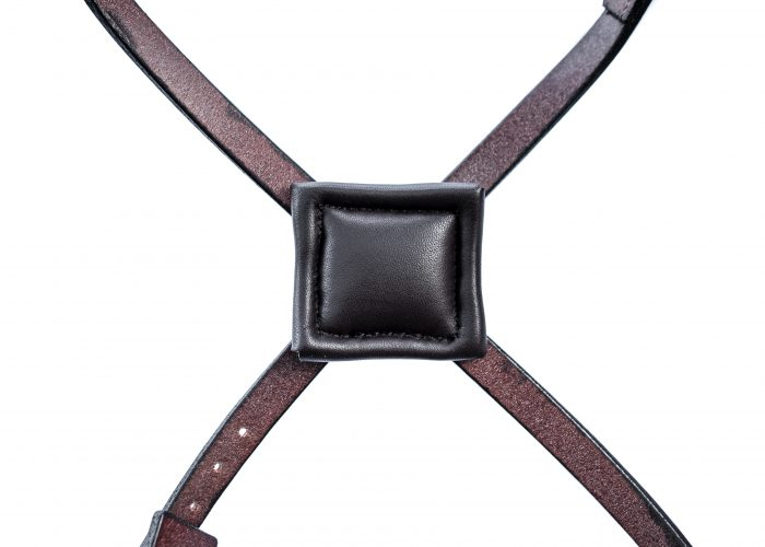 Made to Measure Anatomical Bridle in English Leather by TC Leatherwork
