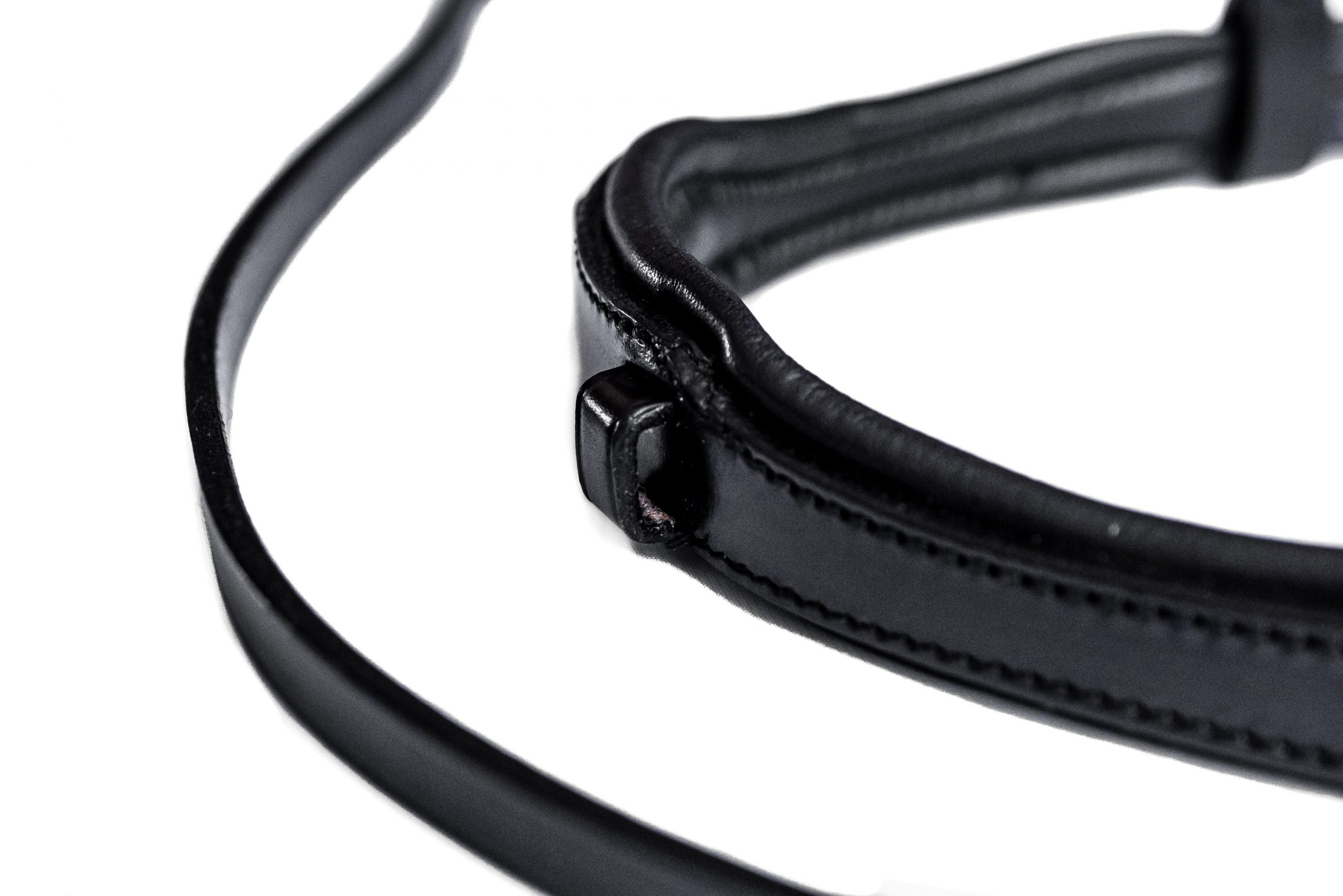 Deluxe Comfort Padded Anatomical Bridle by TC Leatherwork