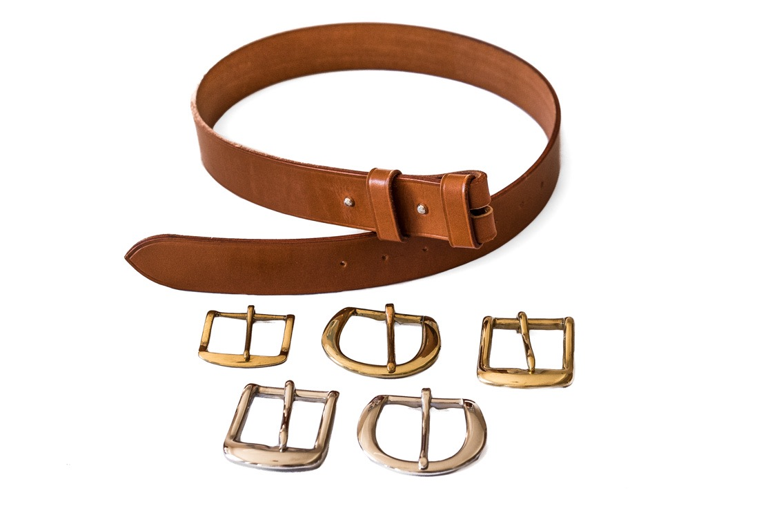 A Buckle less belt option from TC Leatherwork in Somerset