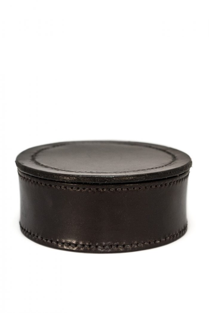 Hand crafted & stitched Trinket/Jewellery boxes by TC Leatherwork
