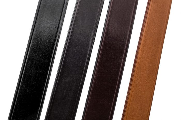 Leather colour options by TC Leatherwork of Chard, Somerset