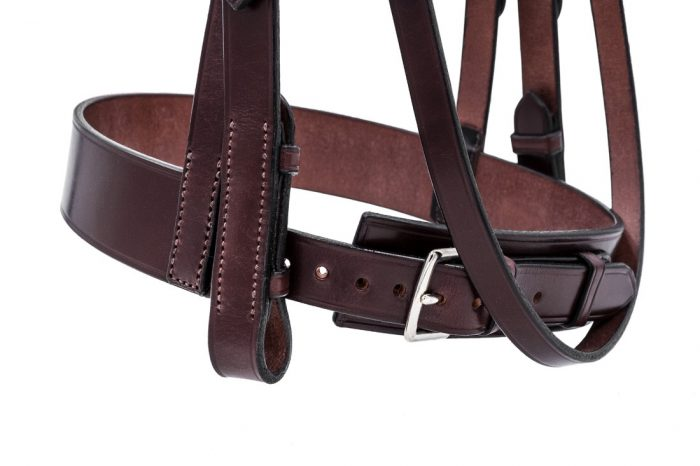 Deluxe Comfort Hunter Bridle in Australian Nut by TC Leatherwork