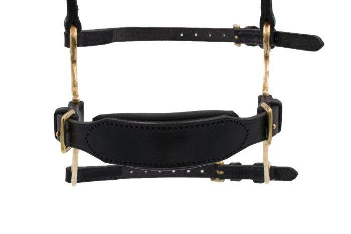 Combination noseband from TC Leatherwork